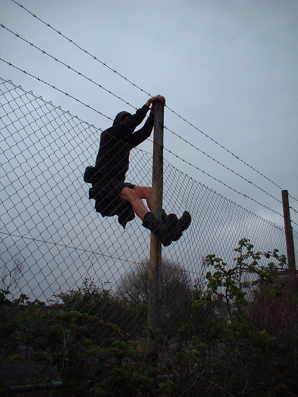 Tour De Fence Bristol United Kingdom Uk