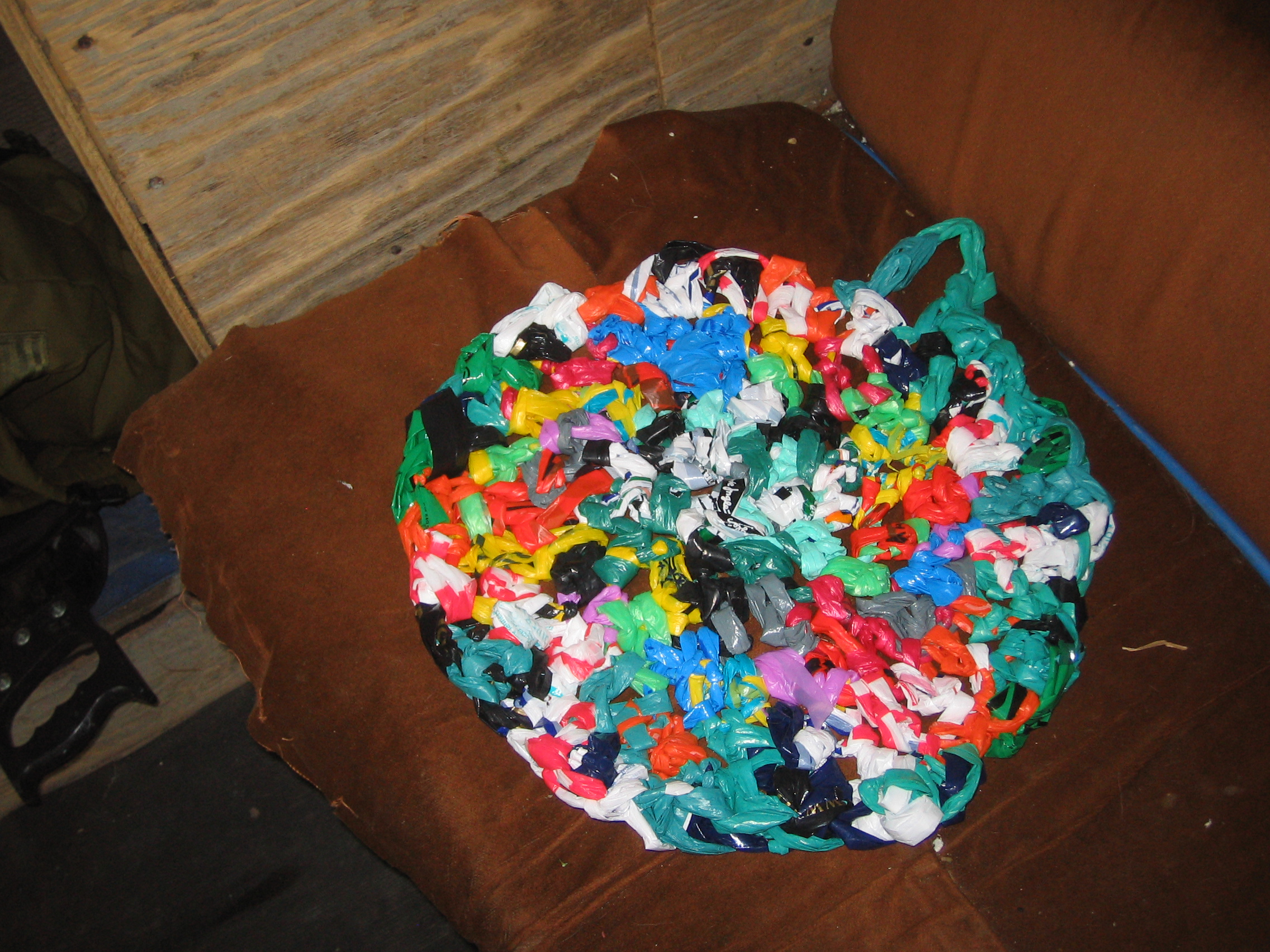 Crochet a Recycled Plastic Shoulder Bag | My Recycled Bags.com